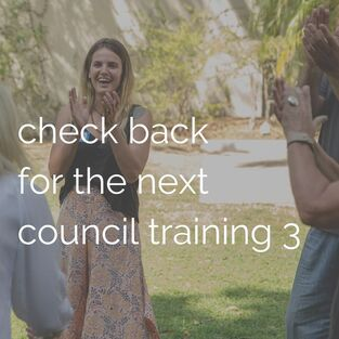 check back for the next council training 3